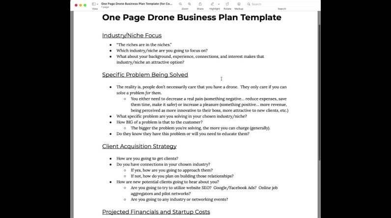 CONTEST - Enter Our Drone Business Plan Contest For A Chance To Win!