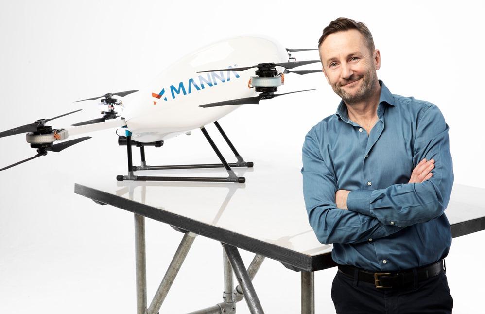 drone delivery dublin