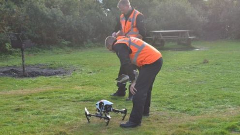 Normally the drone is used is missing people searches
