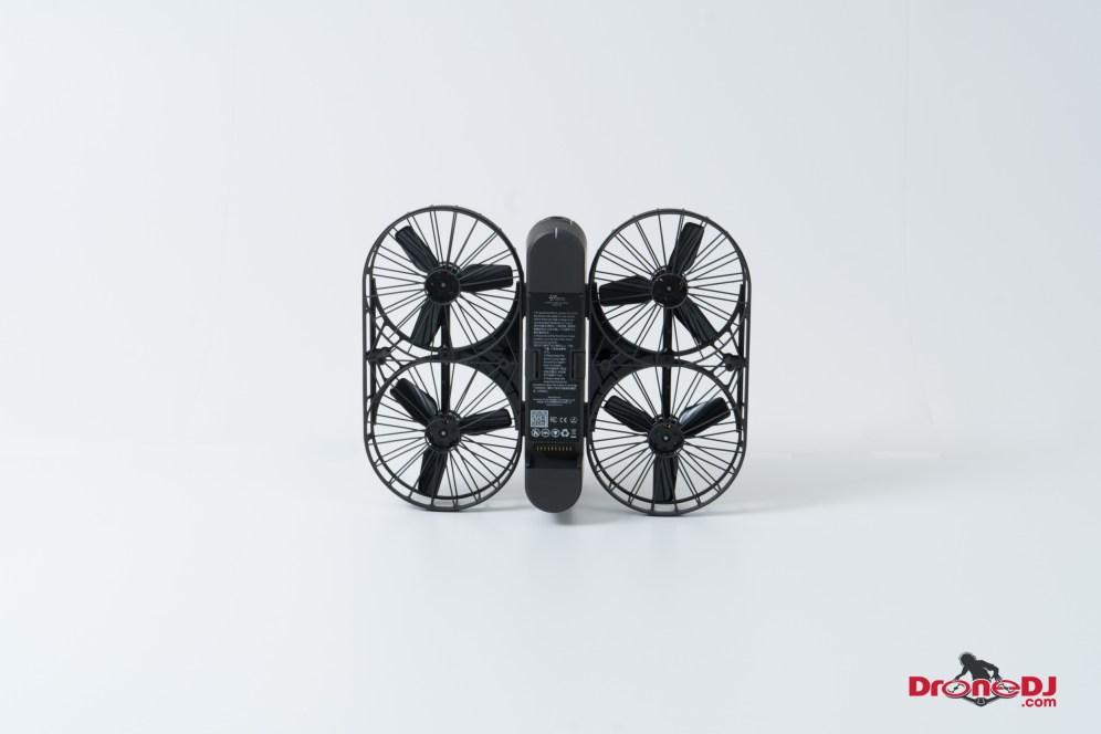 DroneDJ Moment Drone Foldable 4K Aerial Camera White 94