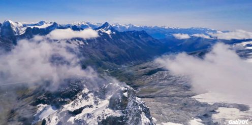 """Have you ever wondered what it's like to soar like a bird along mountaintops in the Swiss Alps? Very few people get to see the snow-capped mountains this way. However, this amazing drone video """"Elevations"""" brings it right to your screen."""