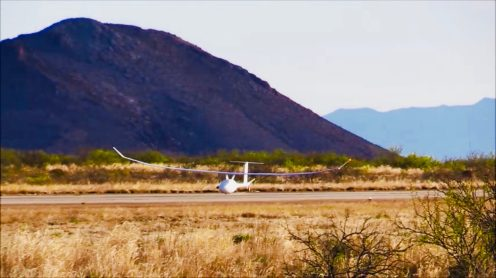 In January this year, Vanilla Aircraft's VA001 set the world record for longest internal combustion drone flight in history. It flew for 56 hours straight. That record has now been broken by the same 36ft (11m) wingspan, diesel-powered unmanned aircraft that stayed in the air for 5 days, 1 hour and 24 minutes. After it flew in an orbit for more than 7,000 miles, it landed with still more than 3 days of fuel in its tanks.