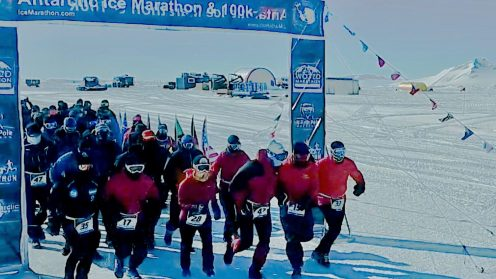 Antarctica has to be one of the least human-friendly places on earth, one could visit in terms of weather conditions, yet last week it was the scene of some amazing feats, including the fastest Antarctic mile ever run, as well as the Antarctic Ice Marathon and 100k(!) race events. The event has been documented partly by drone in the amazing video you can see below. The scenery at the Union Glacier in Antarctica, just 650 miles from the South Pole, is amazingly beautiful and the drone footage is very cinematic. Grab a coffee and enjoy watching this short movie.