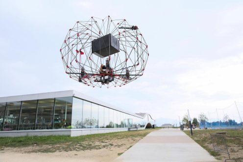 Folding PackDrone could help save lives 2