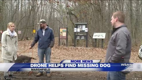 Missing dog found after 3 days with help from DJI Inspire drone