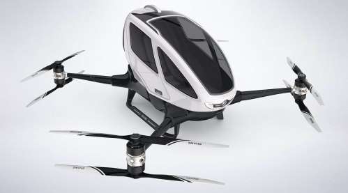 Drone taxi debuts at World Internet Conference Expo in China 100003