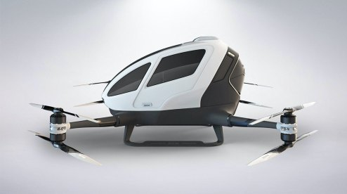 Drone taxi debuts at World Internet Conference Expo in China 100009