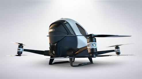 Drone taxi debuts at World Internet Conference Expo in China 100010
