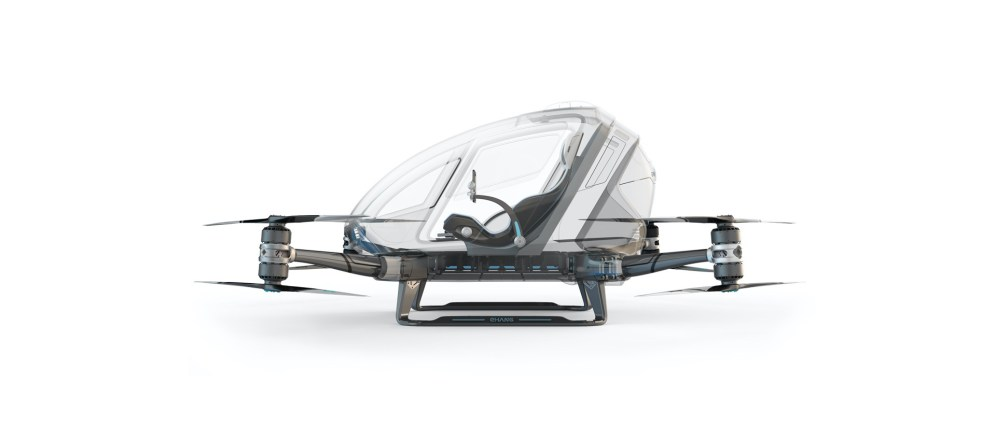 Drone taxi debuts at World Internet Conference Expo in China 100011