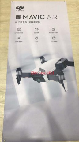 DJI Mavic Air revealed a day early with 4K, 21 min flight time, 3 colors - white banner