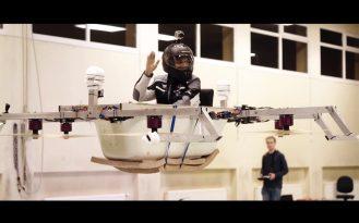 German engineering brings us the flying bathtub drone 0009