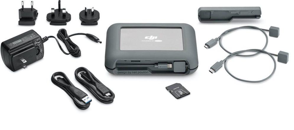 Seagate introduces LaCie 2TB DJI CoPilot portable harddrive at CES 2018 0006
