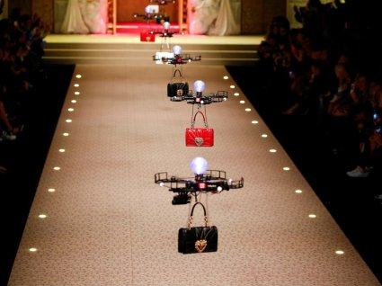 Drones carrying handbags steal the show at Dolce & Gabbana 2