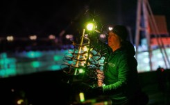 The 2018 Winter Olympics close with another spectacular Shooting Star drone show from Intel 0003