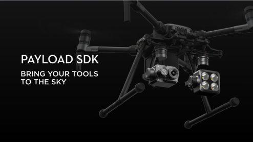 DJI onboard SDK and Skyport adapter 3