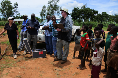 Jon Carroll, assistant professor of Anthropology, is using drone technology to help Malawian farmers boost crop production amid challenges posed by climate change.