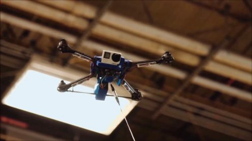 Fotokite has developed a tethered unmanned aerial device 0009