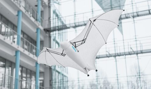 Meet Festo's semi-autonomous Bionic Flying Fox with a wingspan of more than 7 feet 0001