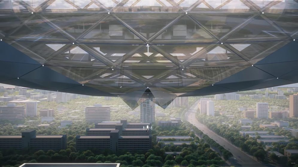 DJI's new head offices in Shenzhen feature a skybridge to launch drones from 0002
