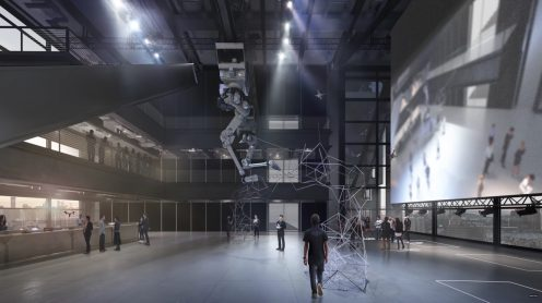 DJI's new head offices in Shenzhen feature a skybridge to launch drones from 0004