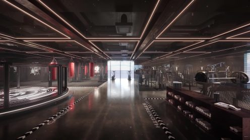 DJI's new head offices in Shenzhen feature a skybridge to launch drones from 0005