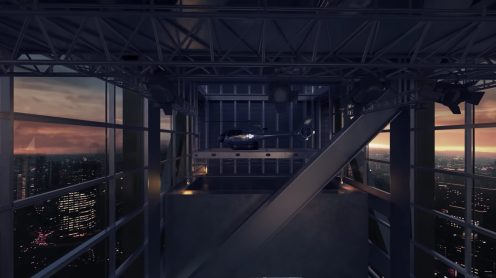 DJI's new head offices in Shenzhen feature a skybridge to launch drones from 0013
