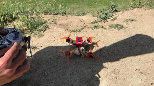 Pizza delivered by pizza-drone 4