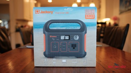 DroneDJ review of the Jackery 240W Battery Charger and Solar Panel 0022