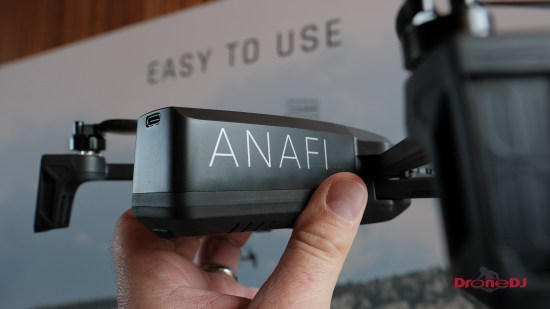 Parrot Anafi foldable 4K HDR 21MP drone 12