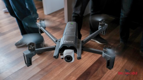 Parrot Anafi foldable 4K HDR 21MP drone 21
