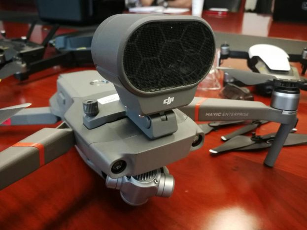 New DJI Mavic 2 'Enterprise edition photos show up providing us with more details of the new foldable drone