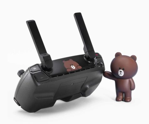 DJI Spark - DJI has teamed up with Line Friends to create brown Spark mini-drone0000