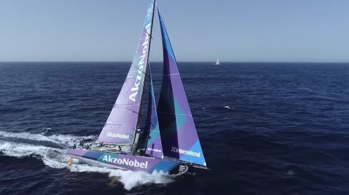 Check out the best drone video footage of the Volvo Ocean Race 0005