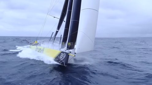 Check out the best drone video footage of the Volvo Ocean Race 0007