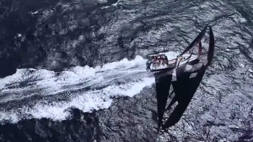 Check out the best drone video footage of the Volvo Ocean Race 0008