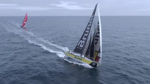 Check out the best drone video footage of the Volvo Ocean Race 0020