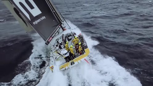 Check out the best drone video footage of the Volvo Ocean Race 0024