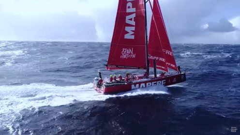 Check out the best drone video footage of the Volvo Ocean Race 0027