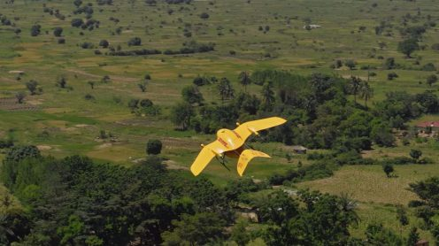 Deliver Future: DHL Parcelcopter flies 37 miles autonomously to a remote island in Lake Victoria 0007