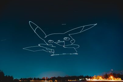 Drone light painting using waypoints and Litchi 0004