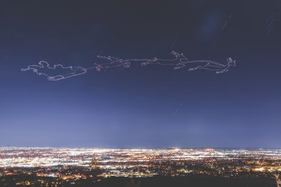 Drone light painting using waypoints and Litchi 0005