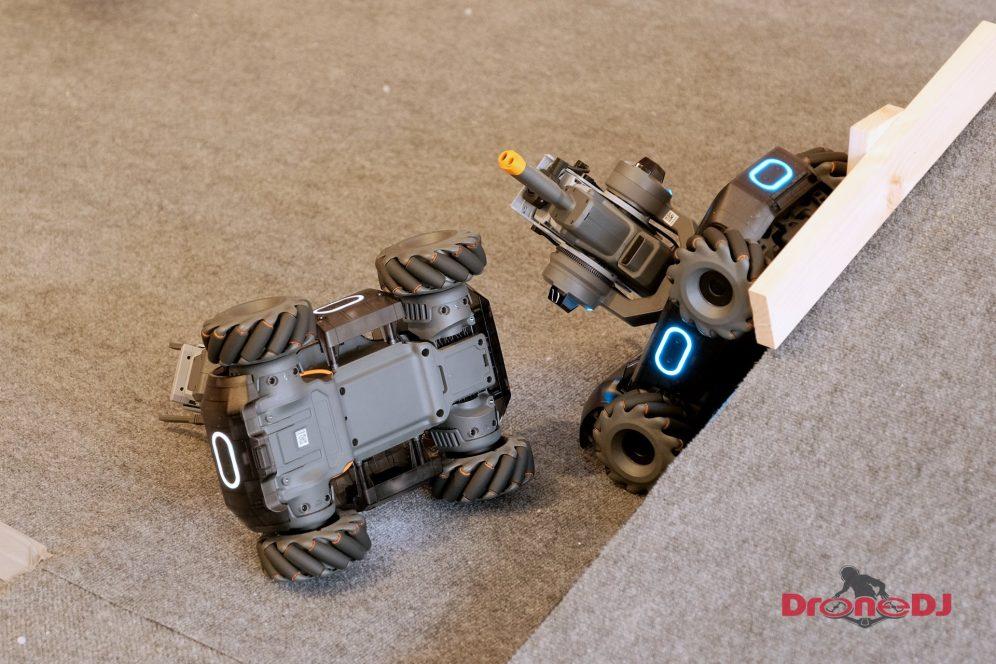 DJI RoboMaster S1 accident