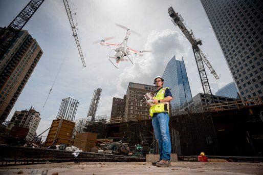 Commercial property joins tech revolution with drones 2