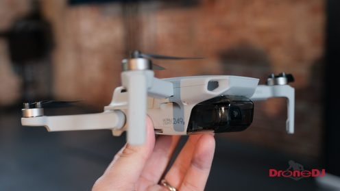 The palm-sized ultra-light dji mavic mini