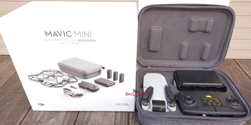 DJI Mavic Mini fly more box