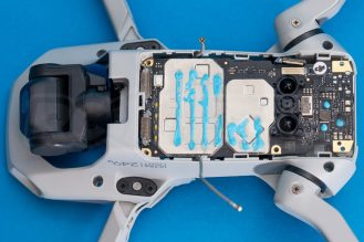 DJI-Mavic-Mini-drone-teardown-guide-repair-mainboard-disconnected-1200x801