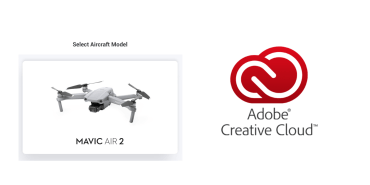 Versione di prova gratuita di Adobe Creative Cloud nascosta nell'aggiornamento dell'app DJI Fly