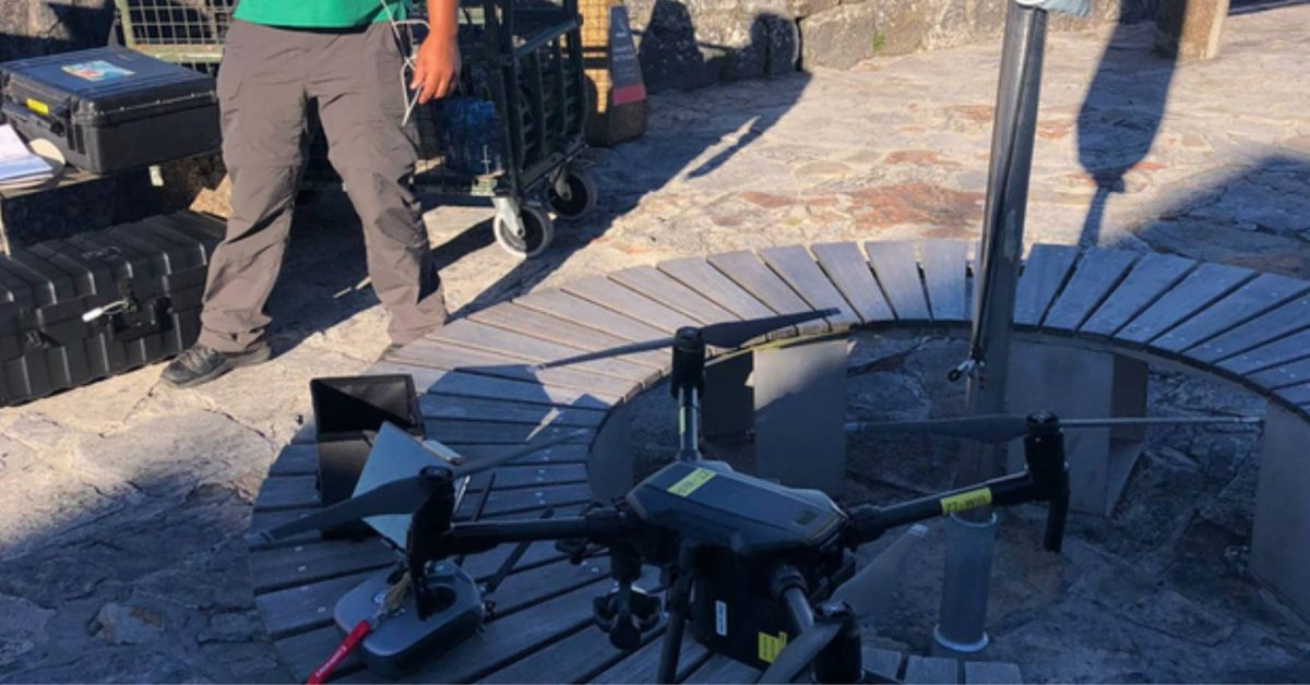 Drone helps locate missing woman on Table Mountain - DroneDJ