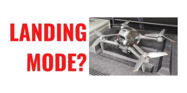 Il nuovo drone FPV di DJI dovrebbe avere la funzione di atterraggio automatico