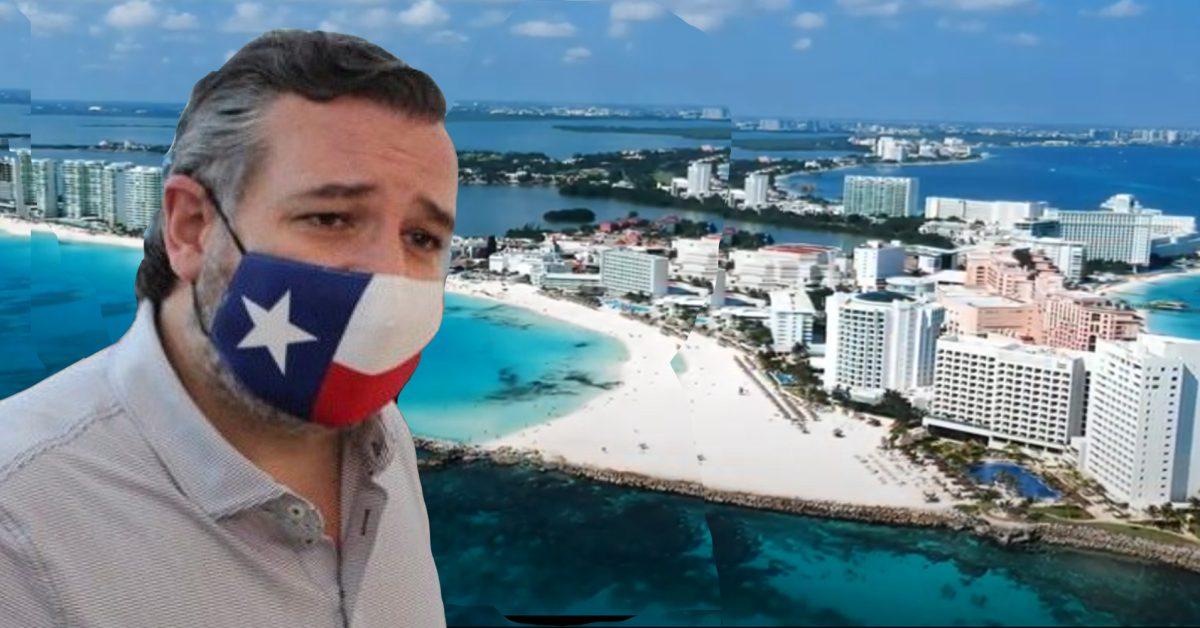 Non si può o (non si dovrebbe) andare in vacanza a Cancun?  Visita invece con un drone